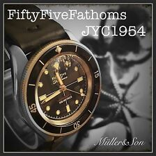 Fifty Five Fathoms Diver Watch Mechanical Automatic Easy Read Jacques Cousteau