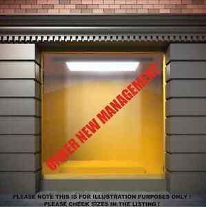 UNDER-NEW-MANAGEMENT-Shop-window-vinyl-stickers