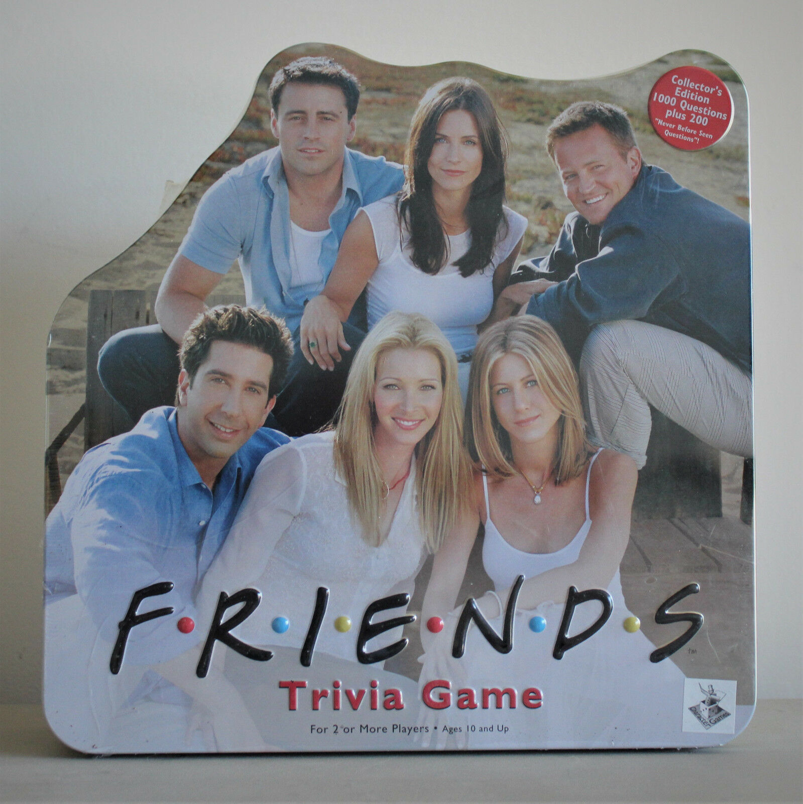 Friends Trivia Board Game - Collector's Tin 2002 - New & Sealed - Gift Idea