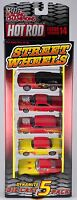 Racing Champions Hot Rod Street Wheels 5 Pack Issue 14 1998