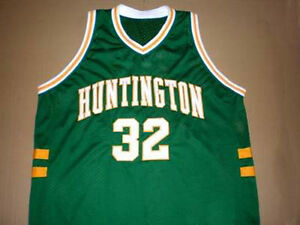 OJ-MAYO-HUNTINGTON-HIGH-SCHOOL-JERSEY-NEW-GREEN-ANY-SIZE-XS-5XL