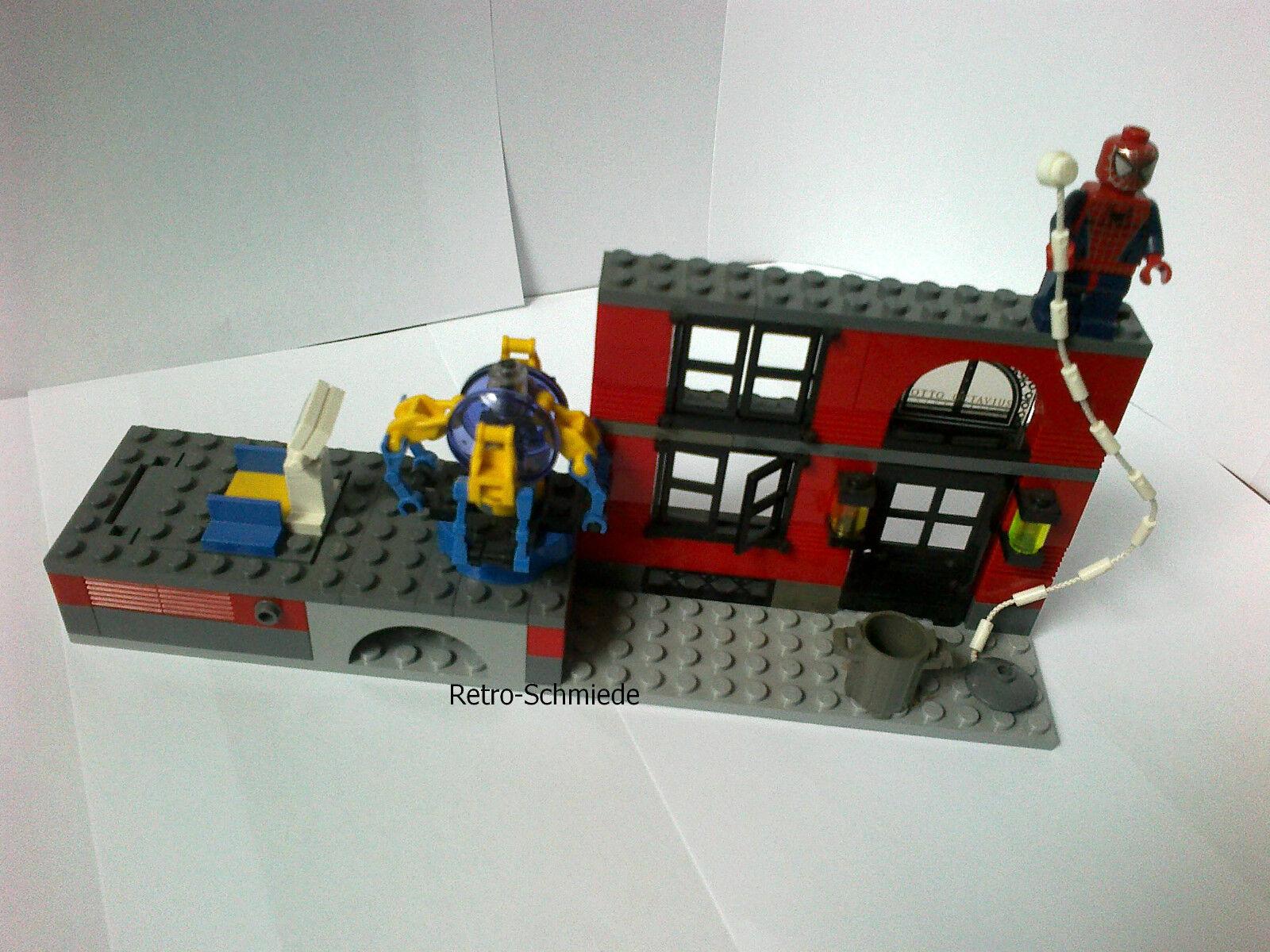 LEGO Studios 4857 Spider-Man Fusion Lab VINTAGE