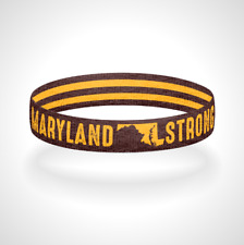 Multiple Colors Available Reversible Thin Red Line West Virginia Strong Wristband Bracelet