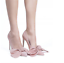 Womens-Pointy-Toe-Big-Bow-Pointed-Toe-Shoes-Suede-Stiletto-High-Heel-Party-Pumps thumbnail 9