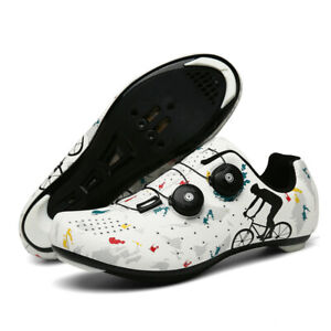 Outdoor Road Cycling Shoes Men Racing Bike Shoes Bicycle Sneakers Professional