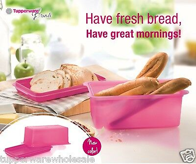 Tupperware New Bread Server (1) Rectangle Pink