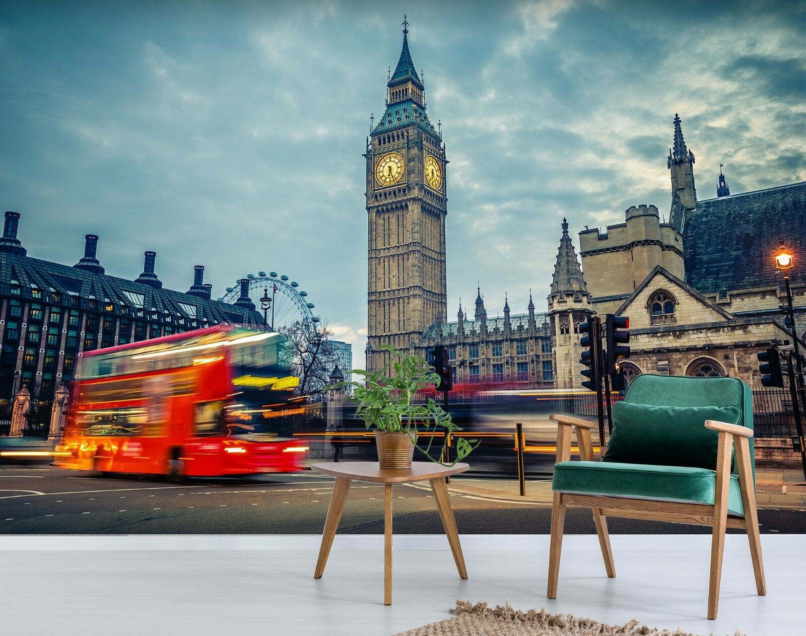 3D London Street 785 Wallpaper Mural Paper Wall Print Murals UK Sidney