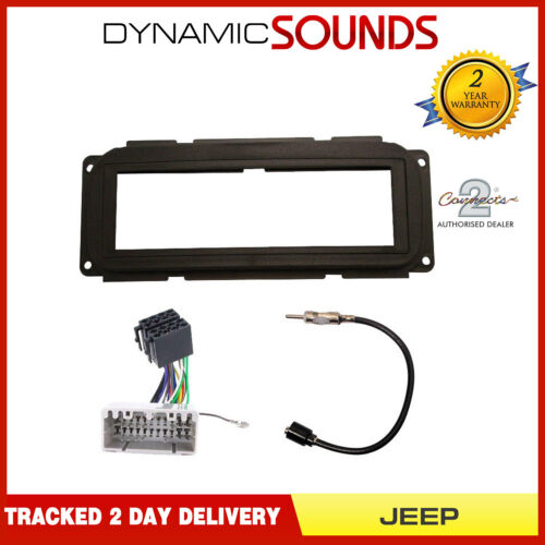 Car CD Stereo Fascia Fitting Kit For Jeep Grand Cherokee