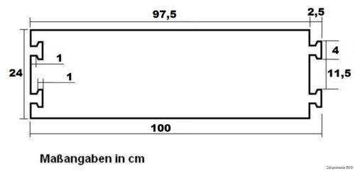 5 x 2 Kanal PKW LKW Überfahrschutz ECO Kabelbrücke Kabelschutz Kabelkanal Rampe