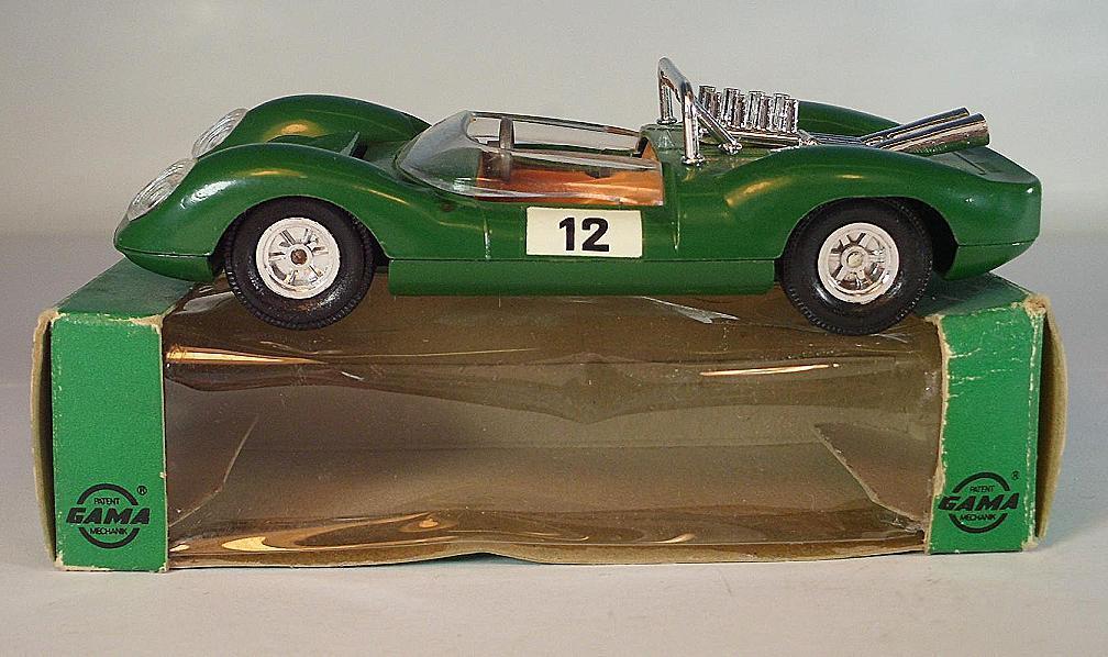 GAMA Mini-Mod 1 39,5 Nr. 9603 Ford GT 40 green green green OVP 78e2f7