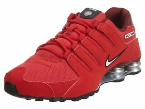 brand new 80f24 b197e Mens Nike Shox NZ Sneakers New, University Red 378341-601 ...