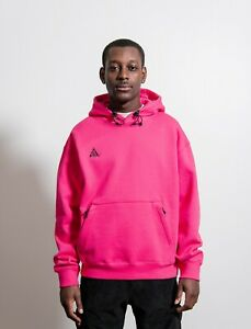 Details about New Men's Nike ACG Pullover Hoodie Size XS Rush Pink  Anthracite BQ3453 667