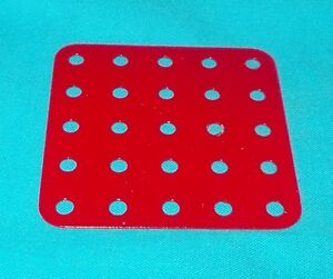 Meccano-plaque-rectangulaire-No72-rouge