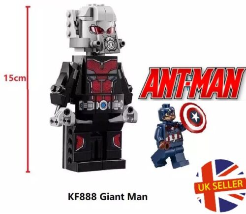 Ant-man Giant Figure Fit With Instructions Marvel Avengers End Game XL UK Seller