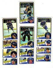 1X ST LOUIS BLUES 1984 85 opc TEAM SET O Pee Chee Lots Availab GILMOUR Rookie RC