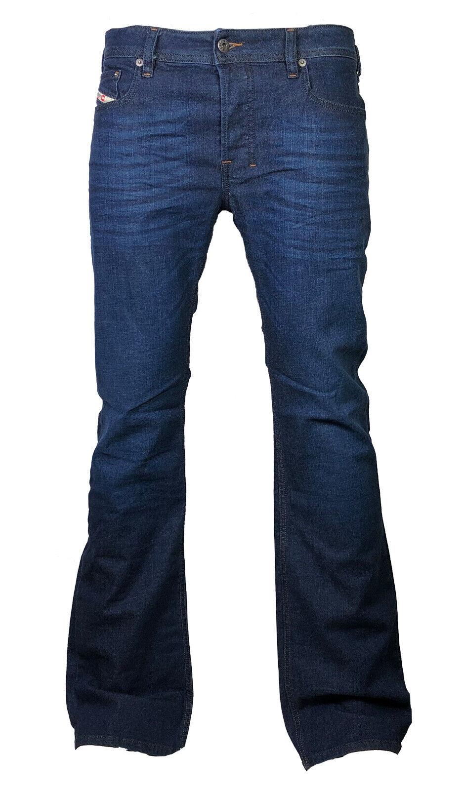 Diesel Hommes boot-cut boot-cut boot-cut jean stretch Zathan r845b bleu foncé 30/30 NEUF a11ca7