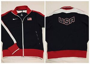 Details about Nike 2012 Olympics Team USA Track & Field USATF Medal Stand Jacket Mens Small