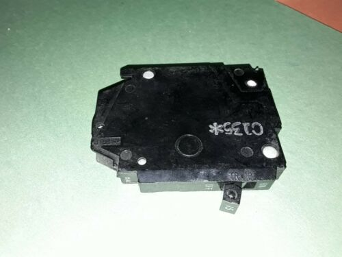 GE TQP115 1 pole CTL 15A breaker 120//240V AC