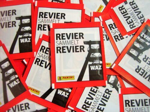 100 Sticker OVP Panini Revier sammelt Revier TOP RAR 20 Tüten