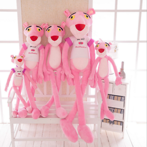 Cuddly Animal Pink Panther Plush Toys Animated Stuffed Soft Toy Kids Gift's Doll
