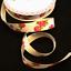 Bertie/'s Bows 16mm Bright Budding Roses Print Grosgrain Craft Ribbon