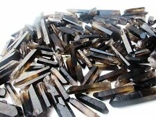 1/2LB 30-60 Lot black Quartz Crystal Points A+ Terminated Wand Specimen