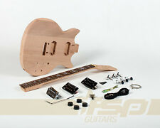 Solid Body DIY Electric Guitar Builder Kit Project Mahogany Body Neck New