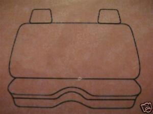 Plain Black Seat Cover Ford Courier 1990 1997 Mazda