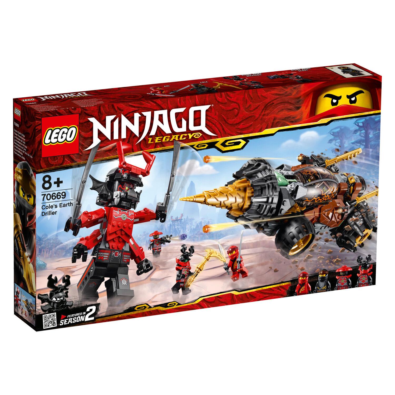 LEGO Ninjago 70669 Legacy Set Cosel Power TRAPANO NINJA-TRAPANO n1 19