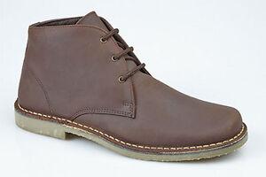 8 marrone 10 12 caviglia dettagli in uomo da desertica pelle 7 11 6 9 taglia Scarpe stile con qH0SwOw