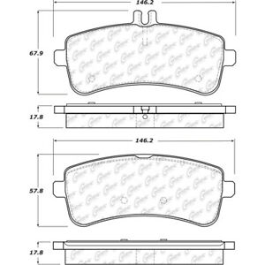 Disc-Brake-Pad-Set-Rear-Centric-104-16811