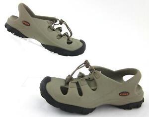 Crocs  Trailbreak  Unisex Sports Sandals Tan Black Womens 8 Mens 6 ... fbb40d54a1