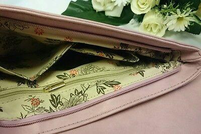 Damentasche Tasche Clutch Abendtasche Damen Handtasche Neu Schlange puder