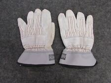 New Lot Of 6 Pair North Leather Palm Work Gloves 5x904