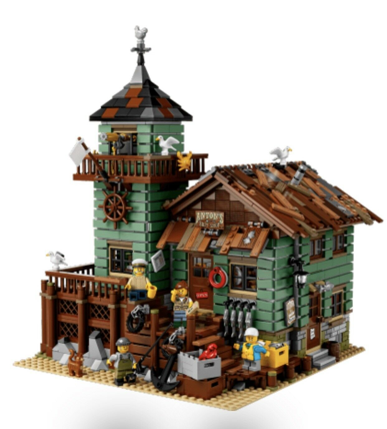 Lego Idea Old Fishing Store 21310 Brand New In Box
