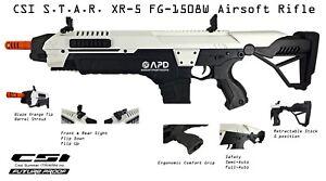 CSI-Airsoft-S-T-A-R-XR-5-FG-1508W-White-Advanced-Battle-Rifle-AEG-Space-M4