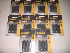 Doe-het-zelf Elektrisch gereedschap 30 DEWALT IMPACT READY 2 PHILLIPS #2 SCREW BITS DRIVER PH2 P2 20V 18V DW2022IR6