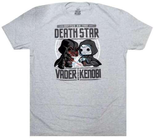 Funko POP esclusiva T-Shirt-Fener vs Kenobi-SMUGGLER /'S BOUNTY-LARGE