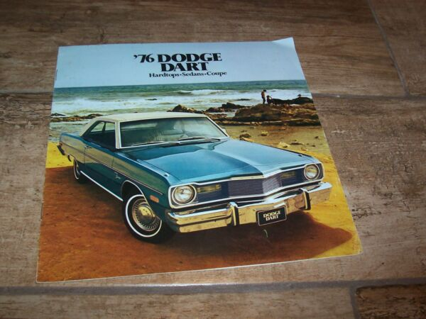 2019 Mode Catalogue / Brochure Dodge Dart 1976 Usa //
