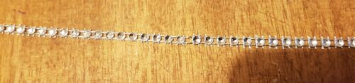 Silver Diamante Bling Sparkling Diamond Effect Cake Trim Decour Ribbon