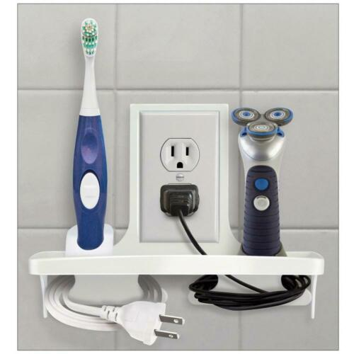 """White IdeaWorks Wall Outlet Organizer 9/"""""""