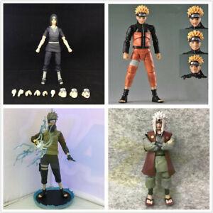 Naruto-Uchiha-Itachi-Hatake-Kakashi-Jiraiya-PVC-Action-Figure-Toy-Model-New-Gift