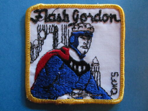 Vintage 1970's FLASH GORDON Collectable Sew On Jacket Hoodie Hat Patch Crest