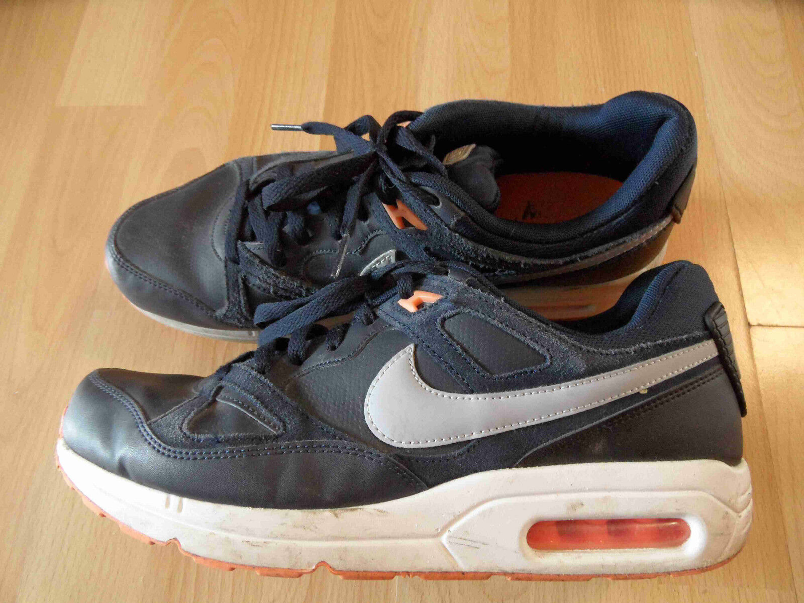 NIKE AIR MAX coole Sneakers blau grau Gr. 45 TOP MC516 The latest discount shoes for men and women