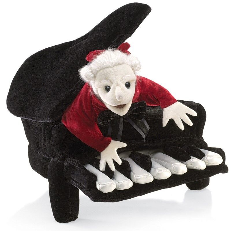MOZART in a PIANO  in USA  Folkmanis Puppets