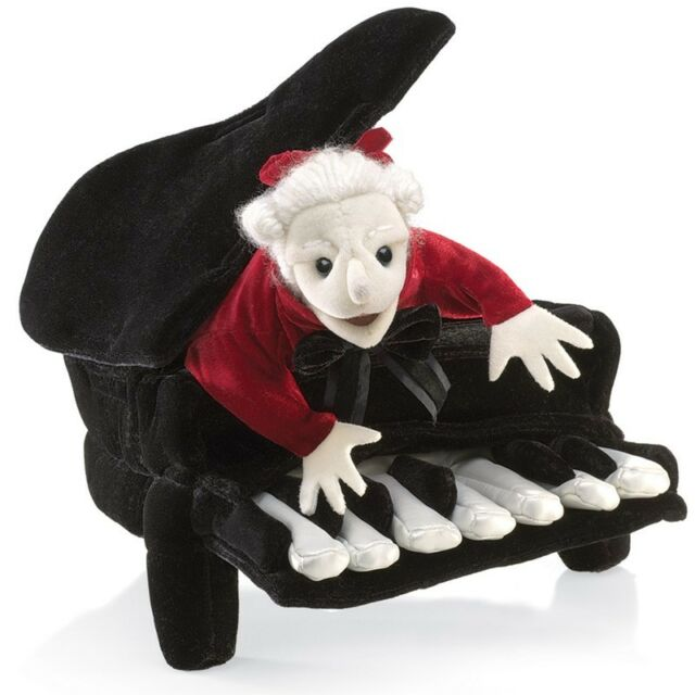 MOZART in a PIANO # 2860 ~ in USA ~ Folkmanis Puppets