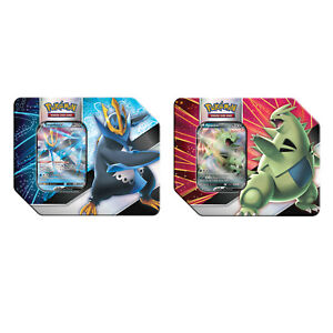 6 V Strikers Tin - CASE Tyranitar V Empoleon V Pokemon Sword Shield SWSH108 109