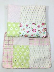 Pocket Full Of Posies Kids Patchwork Reversible Twin Quilt