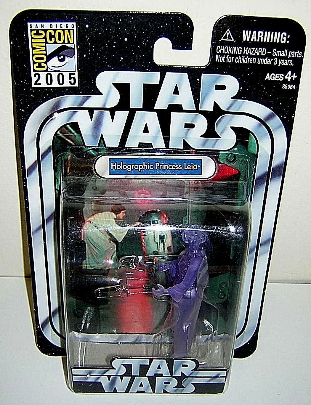STAR WARS_Holographic Princess LEIA figure_ComicCon 05_Exclusive Limited Edition