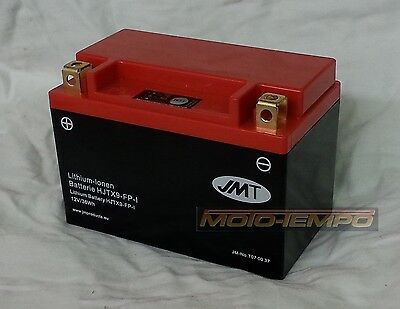 Kawasaki Ninja ZX-6R G/J/A/B/C/P/R/K  Lithium Ion Battery Light Weight Save 2kg